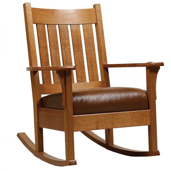 Ghế bập bênh đọc sách gỗ RC90A