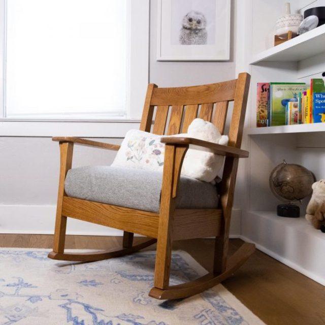 ghế bập bênh đọc sách cho phòng ngủ