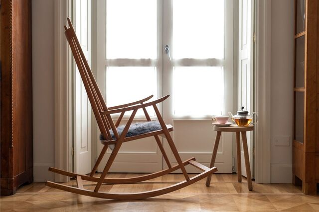 ghế đọc sách thư giãn gỗ