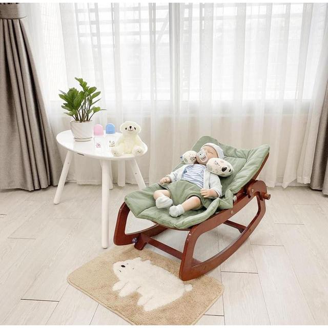 Chọn ghế bập bênh mang lại sự thoải mái cho bé