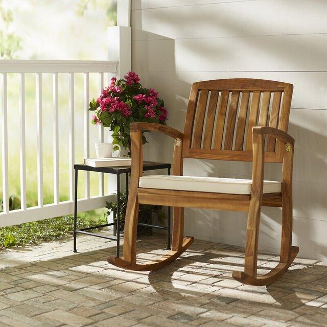 Ghế gỗ bập bênh RC37A