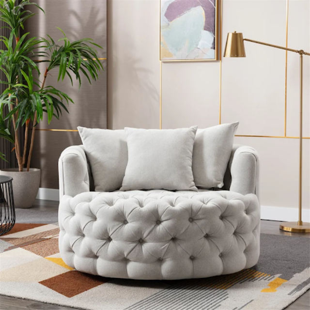 Ghế sofa thư giãn tròn cao cấp