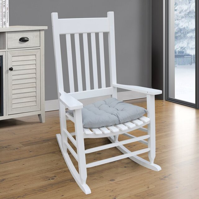 Ghế bập bênh cho người giàn sơn trắng RC17A