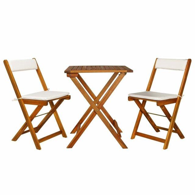 Bàn ghế xếp ngoài trời bằng gỗ giá rẻ