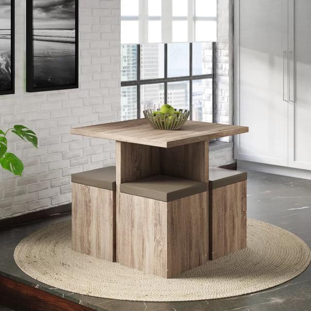Bộ bàn ghế ăn đa năng độc đáo