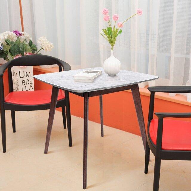 Bộ bàn ghế cafe gỗ cao su