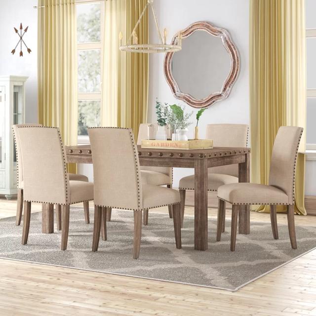 Bộ bàn ghế gỗ bọc da