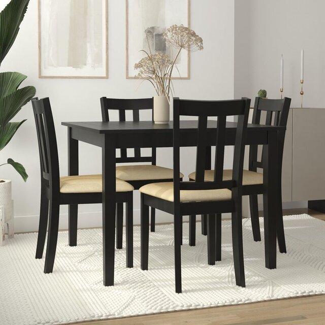 Bộ bàn ghế gỗ cho quán ăn