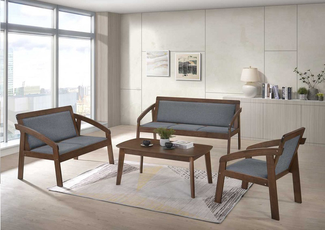 Bộ bàn ghế gỗ phòng khách giá 5 triệu đơn giản