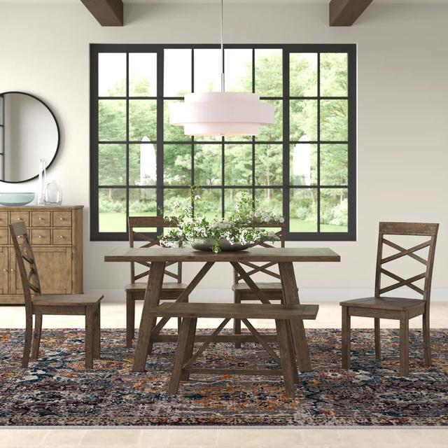 Bộ bàn ghế gỗ truyền thống