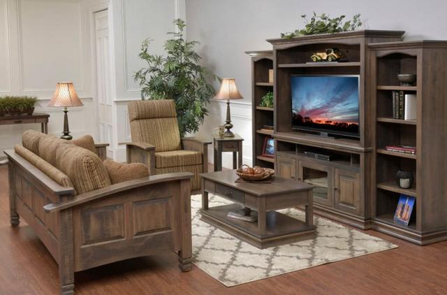 Bộ bàn ghế gỗ phòng khách nhỏ