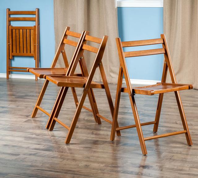Bộ ghế gấp gỗ keo