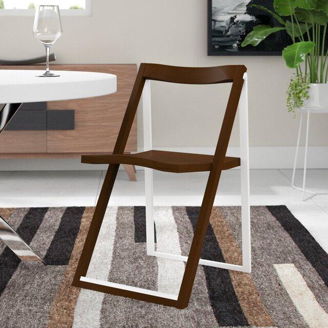 Ghế ăn gỗ gấp gọn đơn giản
