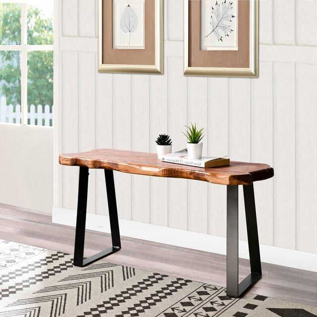 Ghế băng cafe gỗ tự nhiên nhỏ xinh