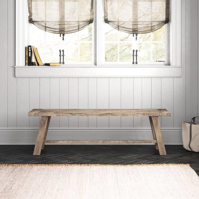 Ghế băng dài gỗ truyền thống