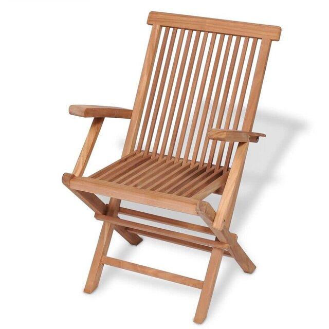 Ghế bành gấp gọn gỗ cao su