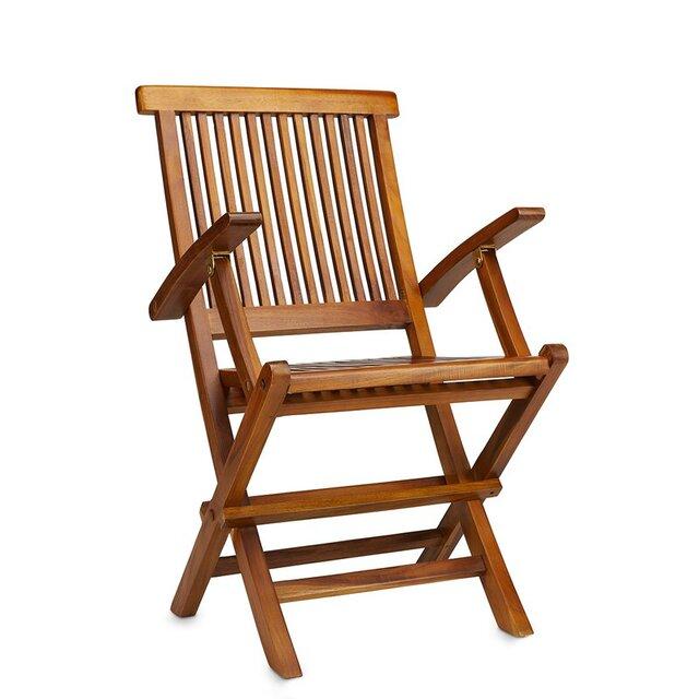 Ghế bành gấp gọn gỗ keo