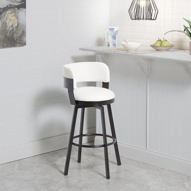 Ghế bar điều chỉnh độ cao chân sắt