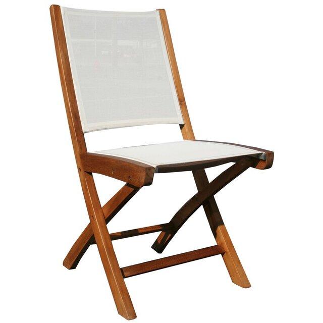 Ghế xếp bằng gỗ tựa lưng vải