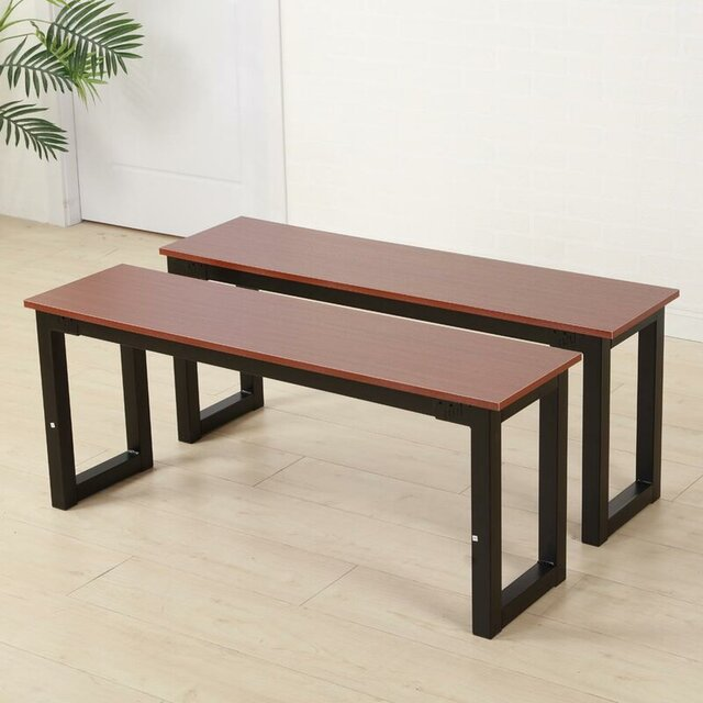 Set 2 ghế băng dài cho quán cafe