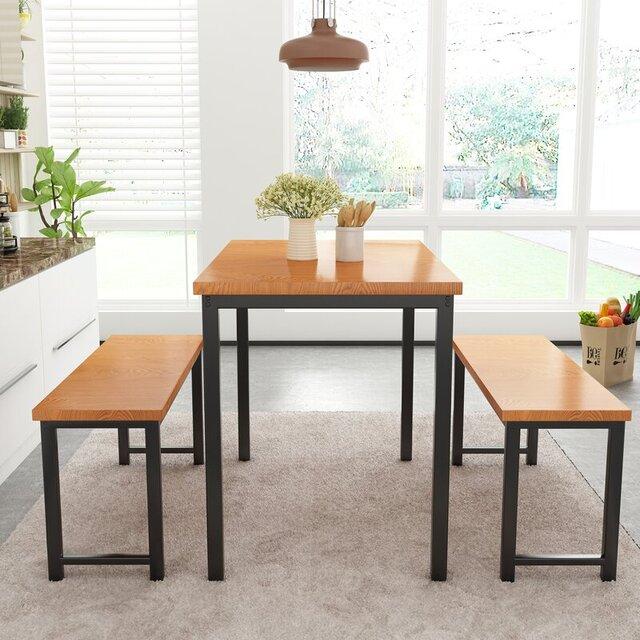 Set 3 sản phẩm bàn ghế cafe đơn giản