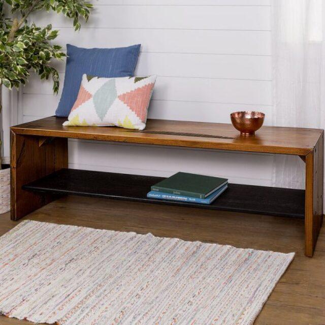 ghế gỗ dài phòng khách