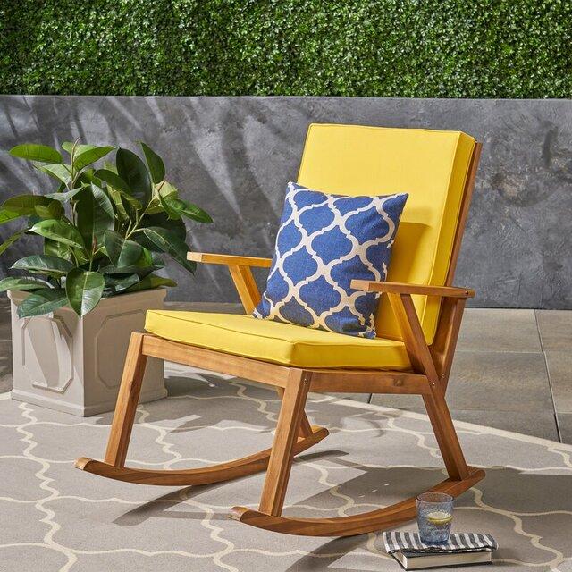 Ghế cafe ngoài trời gỗ tự nhiên hiện đại